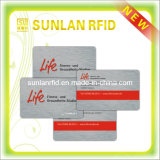 Red Magnetic Stripe Magnetic Card with Competitive Price (SL3071)