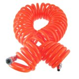 12m 39 FT 12mm X 8mm Polyurethane PU Recoil Air Compressor Hose Tube Orange Red
