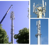 Microwave Telecommunication Steel Power Pole China Manufacturer