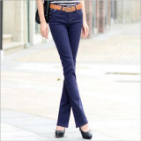 Candy Color Bell-Bottomed Jeans Women's Clothes
