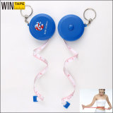 Deign Cute Mini Tape Measure with Key Chain