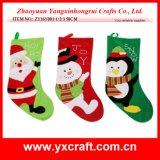 Christmas Decoration (ZY16Y001-1-2-3 50CM) Christmas Stocking Christmas Stocking Holders