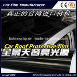 High Glossy Black Car Roof Wrap Vinyl Film, Car Roof Film for Wrapping