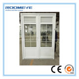 Roomeye Casement 2 Sashes with Decorative Division PVC/UPVC Door PVC Casement Door