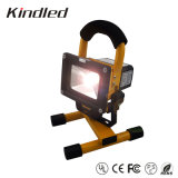 10W Portable Rechargeable LED Floodlight for Working Time 6hours (KLD-FL-R10W-6H)