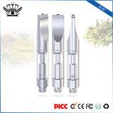 Dual Coils 0.5ml Glass Atomizer Disposable Electronic Cigarette Vaporizer Pen