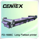High Speed T-Shirt Printer with Flatbed System
