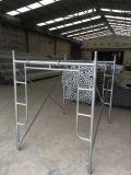 Linyi Manufacturer Construction Steel Walk Through Scaffolding Frame System (WMF-1219)