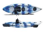 Hot Selling Plastic Single Sit on Top Fishing Canoe Kayak, Boat (M02)