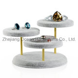 New Design Counter Shop Velvet Jewelry Display (MT-012)
