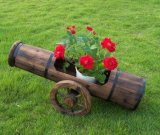 Wooden Flower Garden Pots Planter