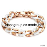 Rose Gold Plated Ceramic Bracelets Jewelry