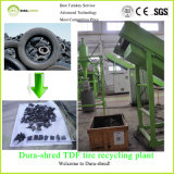 Dura-Shred Ready-Made Tdf Plant for Waste Tire (output size: 75mm)