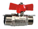 Double Male Ball Valve