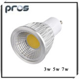 3W GU10 COB LED Spotlights for Bulbs (MR16 E27)