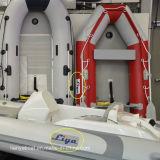 Liya 3.8m-6.5m PVC Aluminium Floor Rowing Boat Pontoon Boat