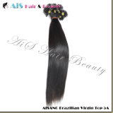 U-Tip Hair Extension; Nail Hair; 100% Human Hair; Brazilian Virgin Hair