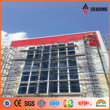 Mominica Red PVDF Coating Exterior Wall Panel Composite Panel (AF-370)