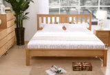 Solid Wooden Bed Modern Double Beds (M-X2231)