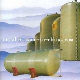 FRP Horizontal Chemical Oil Fuel Storage Tank Transportation Treatment