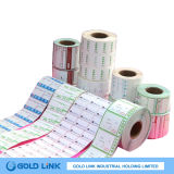 Thermal Paper Adhesive Label Top Direct Level