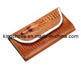 2014 Latest Crocodile PU Beige Fashion Evening Bag (KCE15)