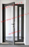 Factory Price Energy Saving Double Plastic PVC / UPVC Sliding Glass Window with Mosquito Net
