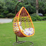 2017 New Outdoor Swing, Rattan Hanging Swing Chair, Rattan Basket (D016)