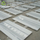 Crystal White Grey Veins Marble Polished Floor Wall Tile