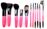 11PCS Pink Makeup Brush
