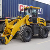 2.0ton Mini Hydraulic Front Wheel Loader Zl20f with Implments