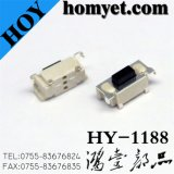 China Manufacturer Tact Switch with 3*6mm Square Button 3.5mm High (HY-1188)