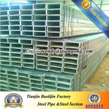 Galvanized Iron Pipe with Square Hollow Section