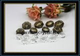 Crystal Bilateral Octagon Beads for Crystal Chandelier 2 Holes (NU-DS7510)