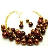 Handmade Fashion Pearl Jewelry Set (S206)