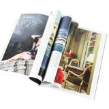 Colorful Softcover Perfect Binding Fashion Magazine Printing