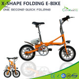 14 Inch Alloy Electric Bicycle 36V250W Folding City Electric Bike
