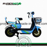 Electric Motorcycle with Front Basket