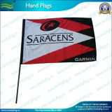 2X3ft Hand Flags with 100cm Plastic Pole (*NF10F01003)