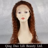 Factory Price #4/30 Virgin Hair Deep Wave Hair Wig Products Lace Front Wig for Sale