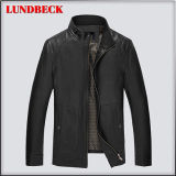 Fashion Coat PU Jacket for Men Casual Leisure Style