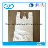 Supermarket Biodegradable HDPE/LDPE T-Shirt Shopping Plastic Bag