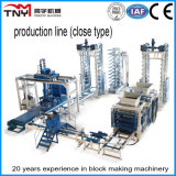 Qt9-15 Fully Automatic Block Production Line (Close Type)