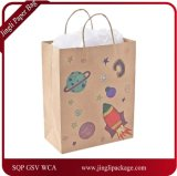 Promotional Bags Packaging Bags Shopping Bag, Brown Kraft Paper Gift Bag, Shopping Bag with Print Logo or Design.