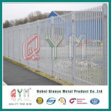 High Quality Metal Garden Fencing / Park Guardrail Galvanized Steel Palisade Fence