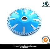 Turbo Segment Granite Diamond Curved Cutting Blade