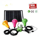 Solar Powered Rechargeable LED Bulb Light