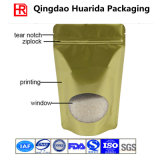 Golden Color Ziplock Bag Made From 100% Food Grade Material