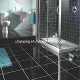 Natural Black Granite Tiles for Flooring and Wall Cladding