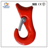 Rigging Red Painted Clevis Sliding Choke Hook with Latch